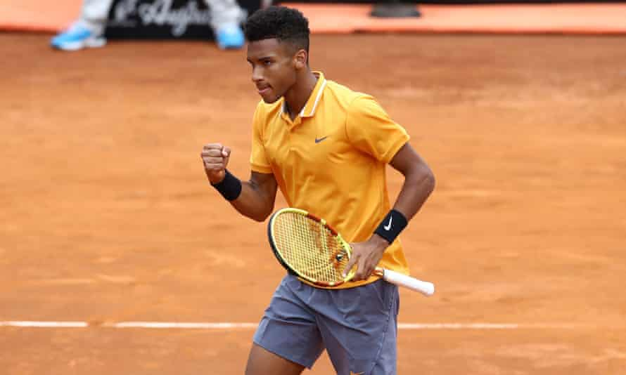 Félix Auger-Aliassime is tipped to be a future grand slam champion