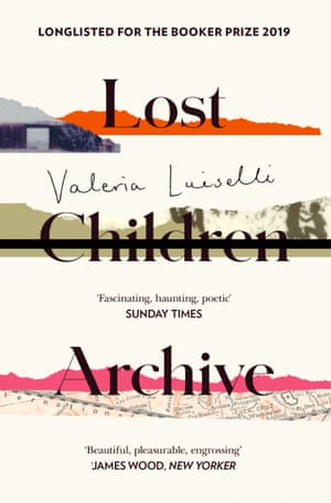 The cover of Valeria Luiselli's novel Lost Children Archive