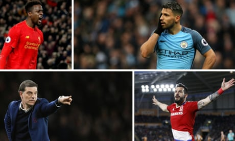 Stoke v Liverpool, Manchester City v Hull, Premier League and more – live!
