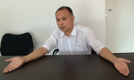Yu Wensheng, a Chinese human rights lawyer.