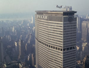The Pan Am building in New York, designed by Gropius in the 1960s, was seen by many as a 'monolithic mistake'.
