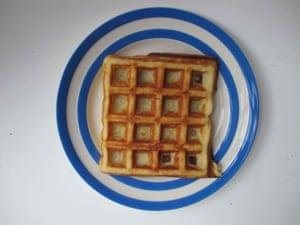 America's Test Kitchen's Belgian waffles.