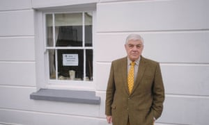 Cllr Andrew Eastman, pictured at his home in Appledore.