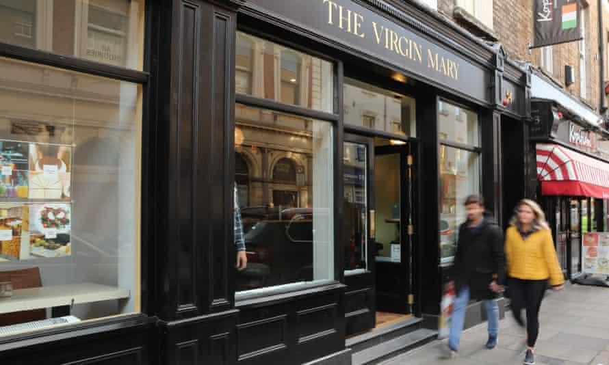The Virgin Mary pub in Dublin