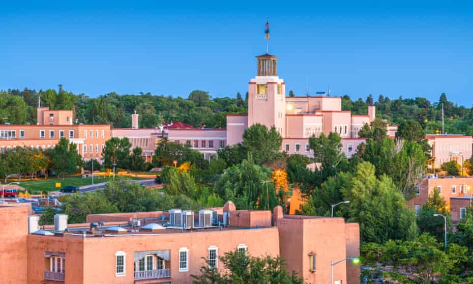 Santa Fe, New Mexico, has one of the tightest rental markets in the US.