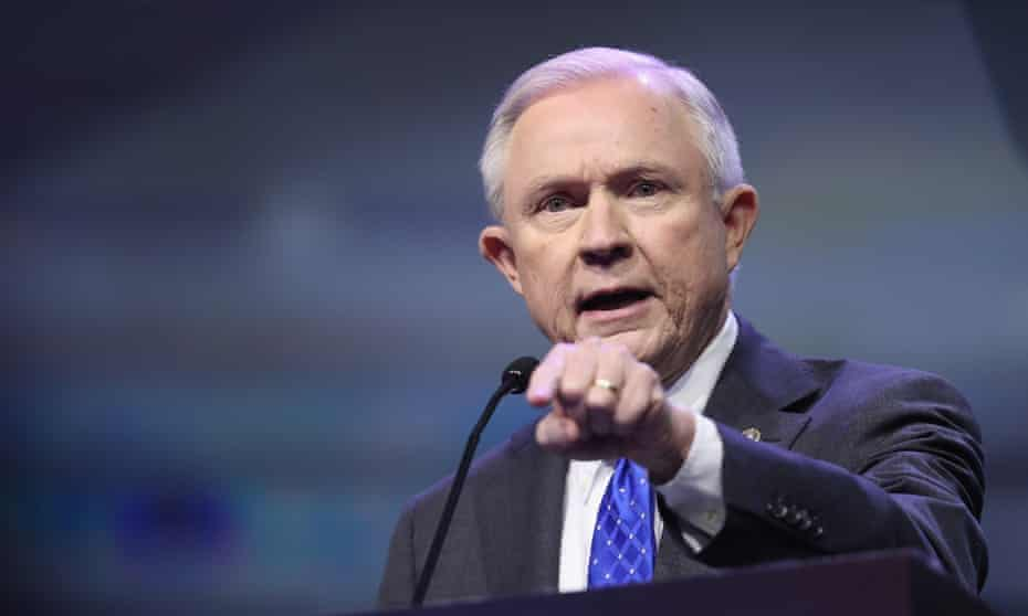 The Senate denied Jeff Sessions a judicial appointment in 1986 after two officials came forward saying he had used racist language toward them.