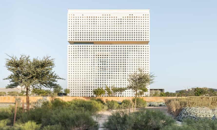 The Qatar Foundation HQ looks like a 'rectangularised brain'.