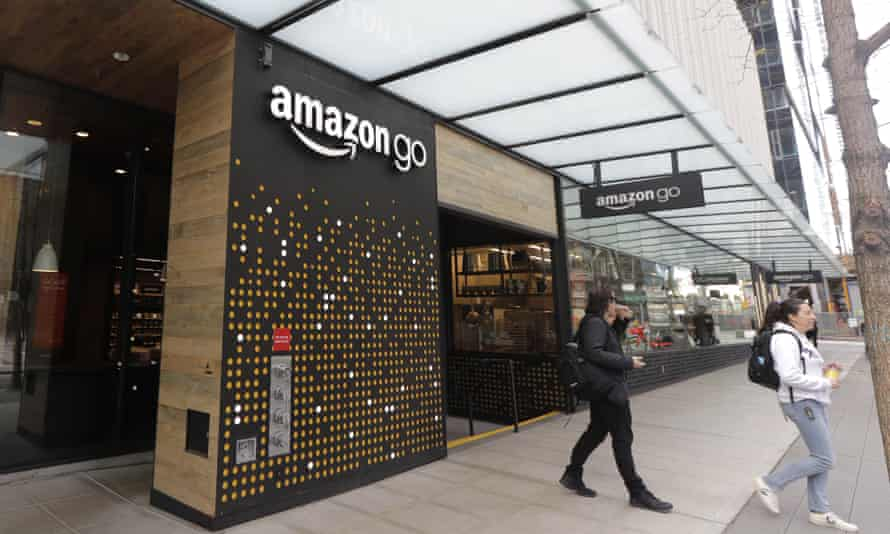 An Amazon Go store, in Seattle, where the technology was first introduced last September.