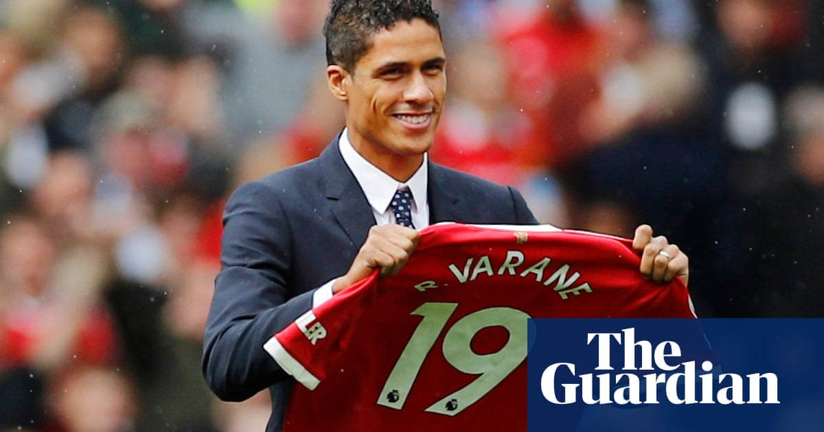 Manchester United confirm signing of Raphaël Varane from Real Madrid
