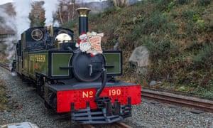 Narrow gauge steam Welsh Highland Railway