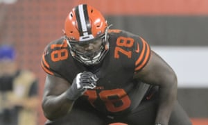 Greg Robinson was picked in the first round of the 2014 draft