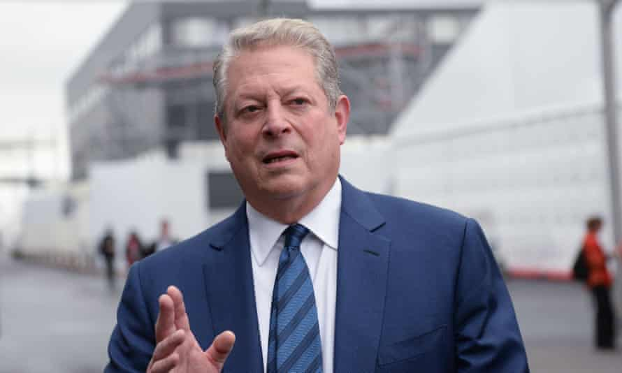 Al Gore in Paris