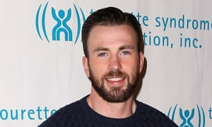 Chris Evans: 'He is very handsome, but not oppressively so.'