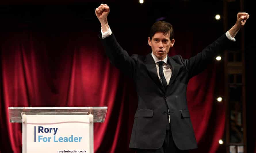 Rory Stewart at the launch of his Tory leadership campaign