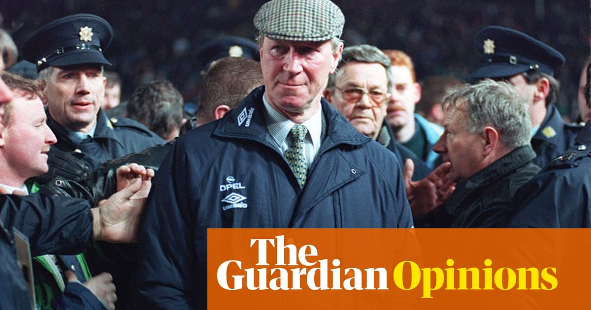Playing for Jack Charlton was a joy. He gave us moments we will never forget | Kevin Sheedy - the guardian