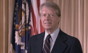 Jimmy Carter, whose presidency was blighted by the crisis in Iran.