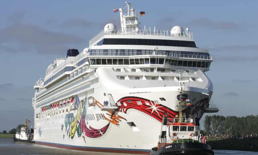 The Norwegian Jewel, operated by Norwegian Cruise Line