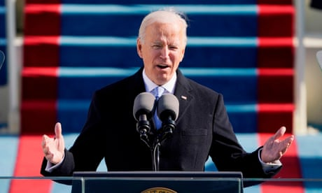 'Democracy has prevailed': Joe Biden's inaugural address in full – video