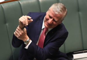 The minister for small business, Michael McCormack, in question time