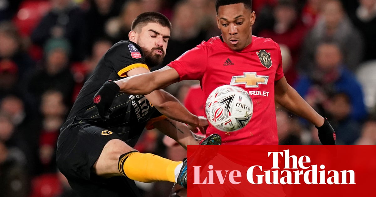 Manchester United v Wolves: FA Cup third-round replay – live!