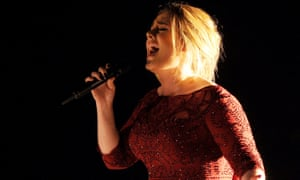 Award-winning British actors are more than twice as likely to have had a private education than award-winning pop stars. Adele, pictured.