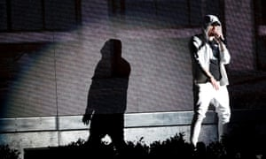 Eminem at Coachella review – career-spanning set is a perfect