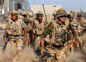 Soliders in Helmand Province