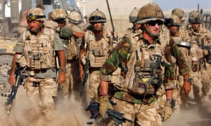 British soldiers on duty in Afghanistan
