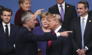 Nato's Jens Stoltenberg and Donald Trump in 2019