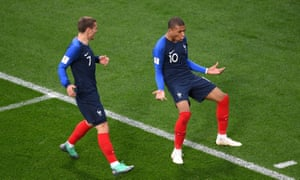 Kylian Mbappé scored the winner for France against Peru but Antoine Griezmann remains out of sorts.