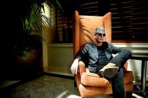 Anthony Bourdain in California in 2010