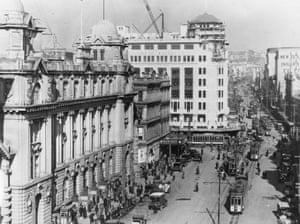 Lower Queen Street in 1935