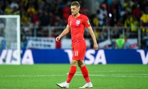 A groin injury prevented Jamie Vardy taking a penalty against Colombia