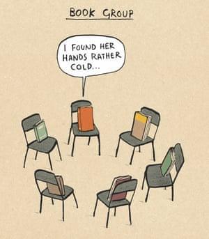 Berger & Wyse on book groups – cartoon