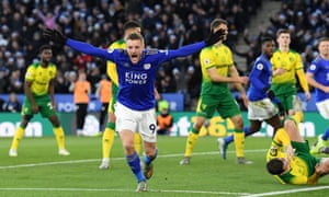 Jamie Vardy has been almost unplayable for some Premier League defences this season.