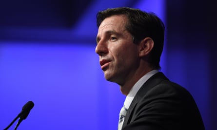 Federal Minister for Education and Training Simon Birmingham