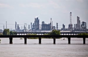 Norco, Louisana. Communities in the area between New Orleans and Baton Rouge are often referred to as Cancer Alley due to a concentration of toxic pollution from petrochemical factories.