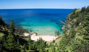 Anson Bay on the western side of Norfolk Island – one of its many beautiful beaches.