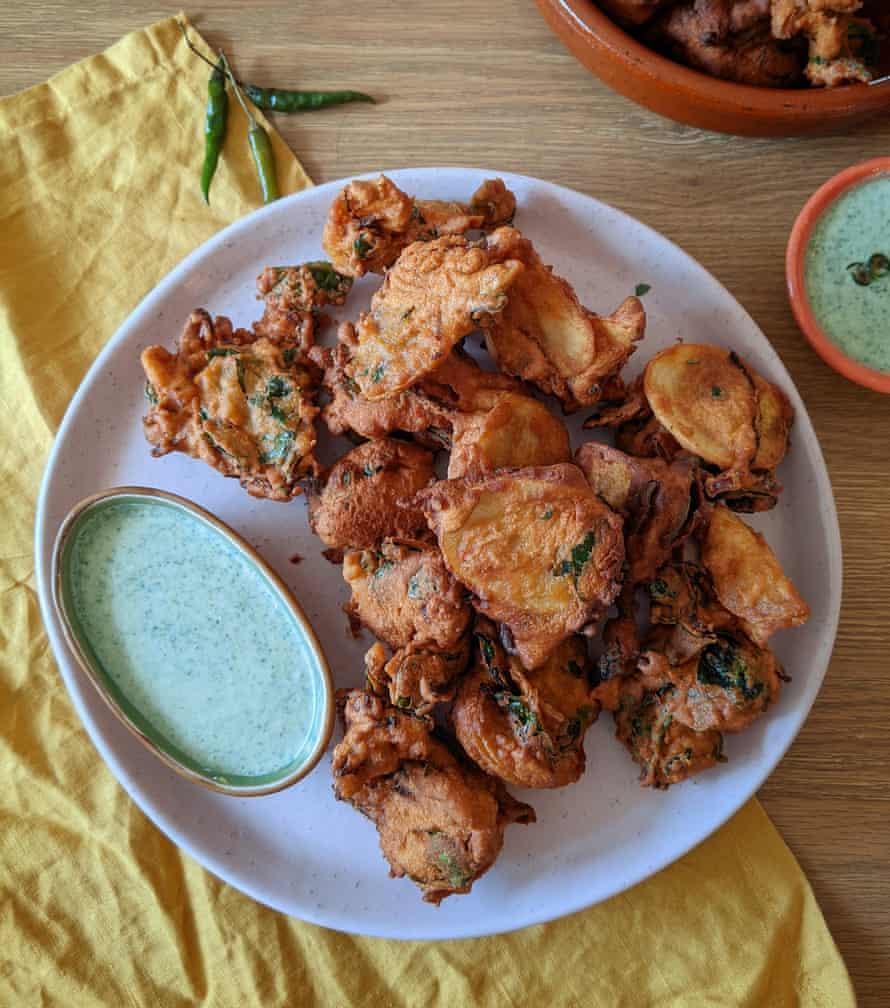 Mehreen Faruqi's iftar pakoras.