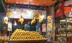 Sukhumvit Rd's street stalls have mostly gone but great mango vendors have survived.
