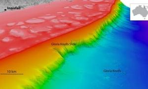 The Gloria Knolls sediment collapse