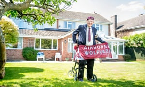 Ron Johnson pictured at home this week in Shrivenham, Wiltshire.