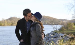 Twanging the heartstrings: Deacon and Rayna tie the knot in Nashville.