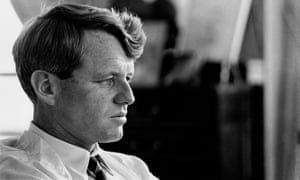 Robert Kennedy in his New York City apartment, 1966.
