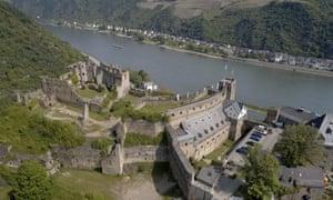 Rheinfels Castle near St. Goar, Germany.