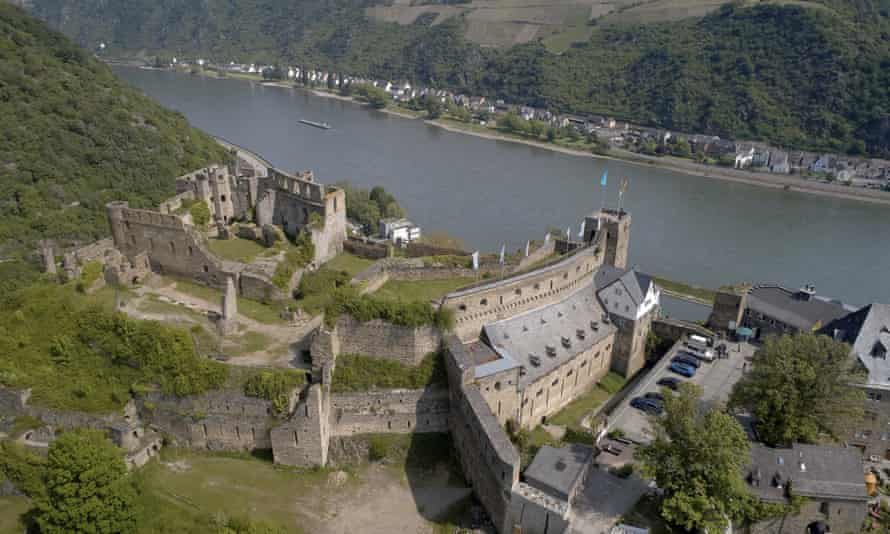 Rheinfels Castle near St. Goar, Germany.