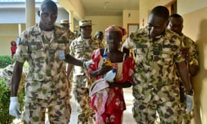 Handout picture released by the Nigerian army.