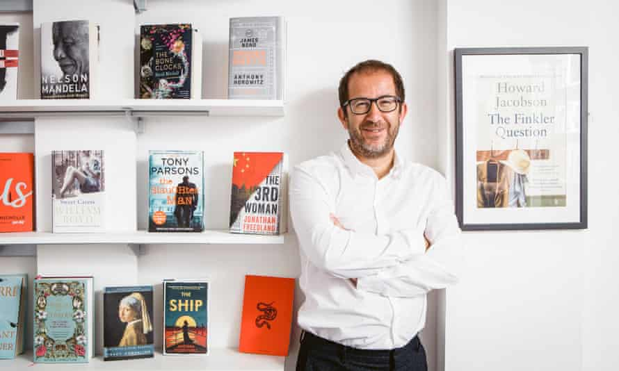 Literary agent Jonny Geller