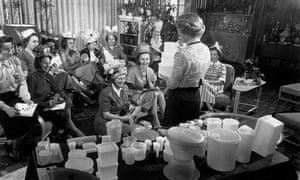 Tupperware party circa 1950.