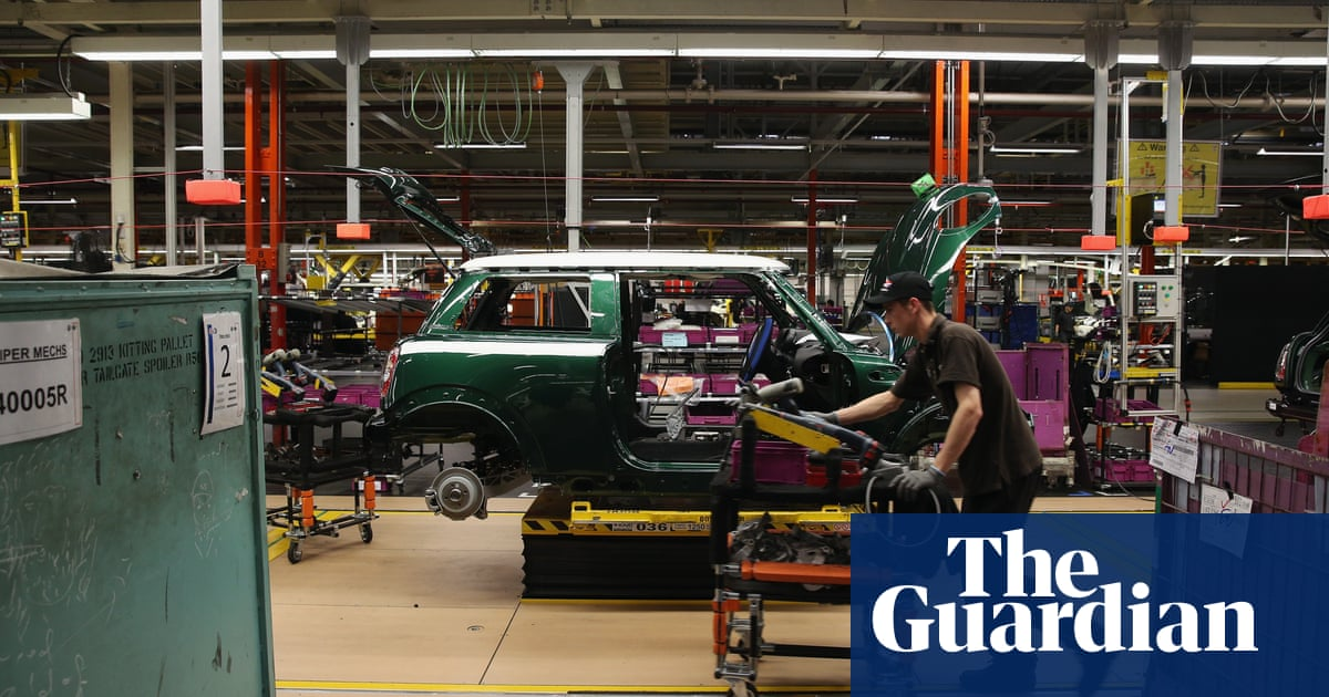Bmw Plans To Shut Mini Plant For A Month After Brexit Day Business